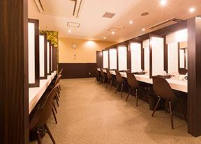 カルドの化粧スペース